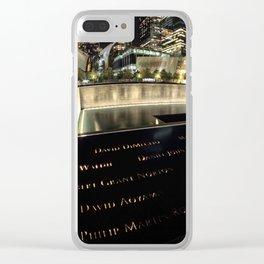 Ground Zero Clear iPhone Case