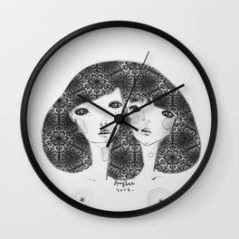 Patterns in my soul Wall Clock