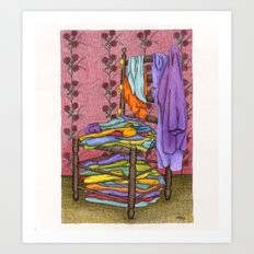 The Closet Art Print