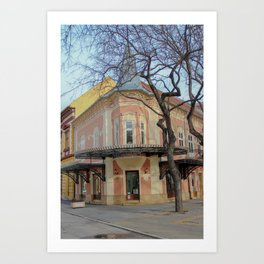 Hausbrandt, Subotica, Serbia Art Print