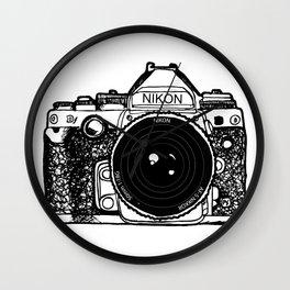 Nikon Camera, Photography, Photo, Canon, Photographer Wall Clock