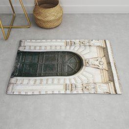 Roma - Rome Italy Architecture Photography Rug