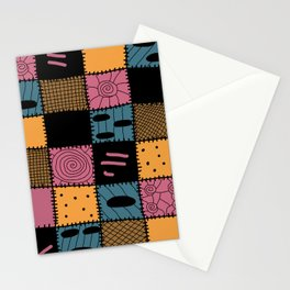 Nightmare Sally inspired pattern Stationery Cards