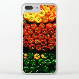 Bell Pepper Display Clear iPhone Case