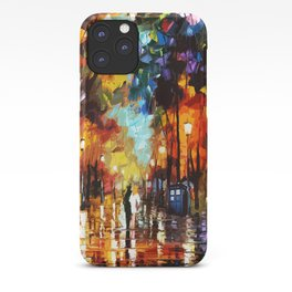 Tardis Art And The Couple Starry Night iPhone Case