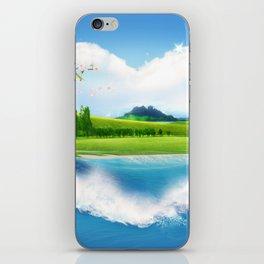 the green island iPhone Skin