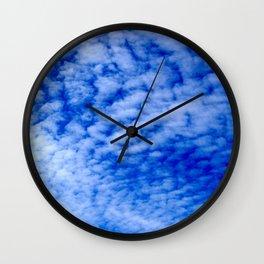 Mackerel sky Wall Clock