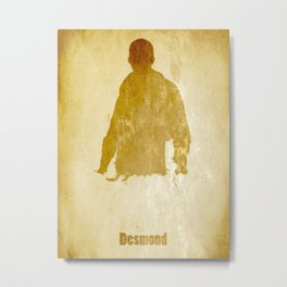 Desmond from Assassin's Creed Metal Print