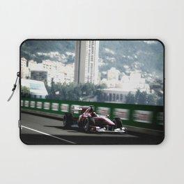 Monaco Grand Prix Blur Laptop Sleeve