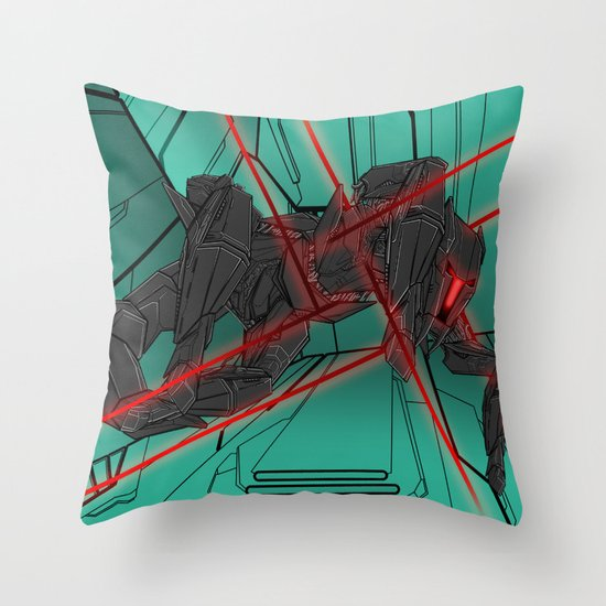 ULTRACRASH 2 Throw Pillow