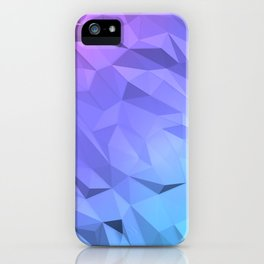 I Love Low Poly iPhone Case