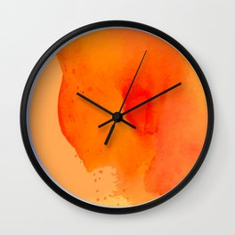 An abstract moon inspired by geometric shapes and geodes Wall Clock