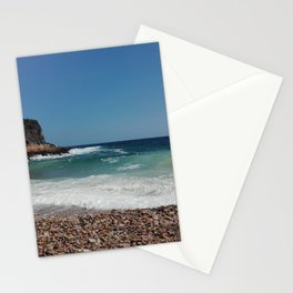 Mediterranea Sea and Waves Stationery Cards