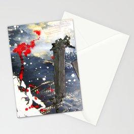 Exploding matchsticks   Stationery Cards