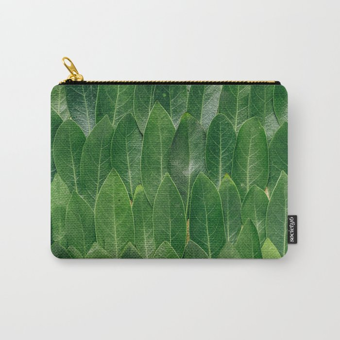 All Lined Up Carry-All Pouch
