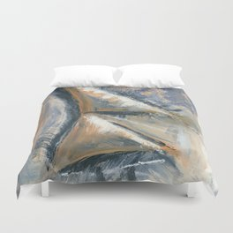 A Secret Nobody Knows Duvet Cover
