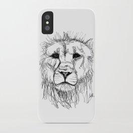 Gesture Lion iPhone Case