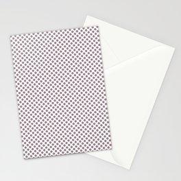 Elderberry Polka Dots Stationery Cards