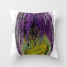 Dark Womb Throw Pillow