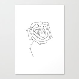 Rose Up Canvas Print