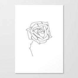 Rose Up Canvas Print