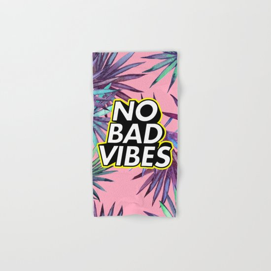 Good Vibes Hand & Bath Towel