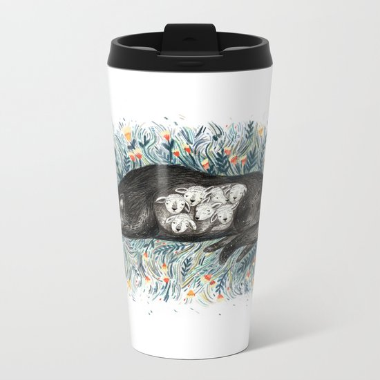 Wolf & The Seven Kids Metal Travel Mug