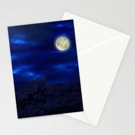 Boga Lake, Bandarban || Bangladesh (Moonlight) Stationery Cards