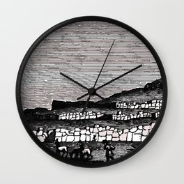 Fortress Walls Wall Clock