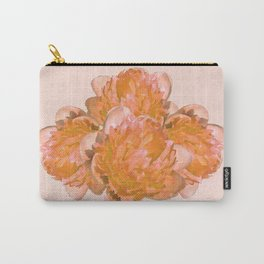 Peonies - Orange watercolour Carry-All Pouch
