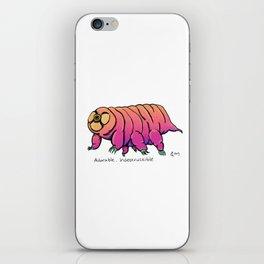 Water Bear Don't Care iPhone Skin