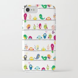 Birds Colorful iPhone Case