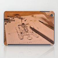 r2d2 iPad Cases featuring R2D2 by radiantlee