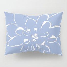 Dahlia Serenity Blue Pillow Sham