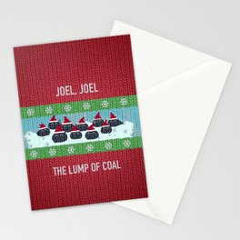 Lump of Coal / Christmas Sweater Stationery Cards