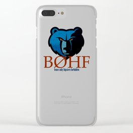 Bears only III Clear iPhone Case