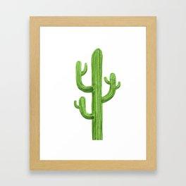 Cactus One Framed Art Print