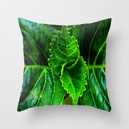 New Plant Growth Throw Pillow