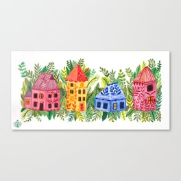 Botanical Street Canvas Print