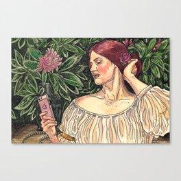 The Selfie Canvas Print