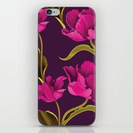 Pinow flower iPhone Skin