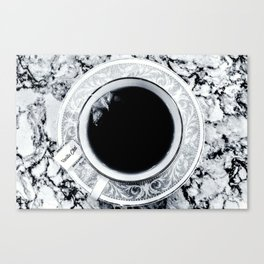 Obsidian Peace Canvas Print