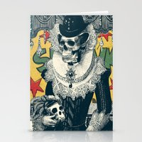 lady Stationery Cards featuring Lady by Ali GULEC