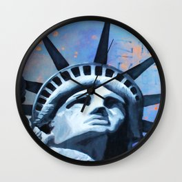 Welcome to New York Wall Clock