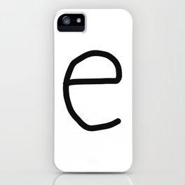 e LOVE iPhone Case