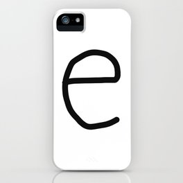e LOVE iPhone Case