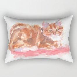Ginger Girl Rectangular Pillow