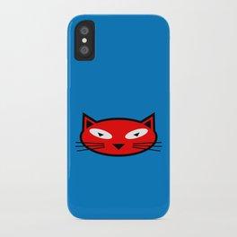 Orange Kitty iPhone Case