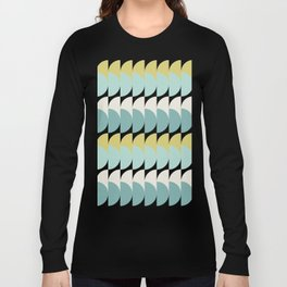 pastel woodstock pattern Long Sleeve T-shirt
