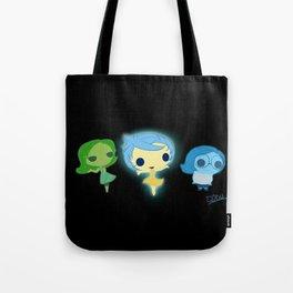 Joy, Sadness And Disgust Tote Bag
